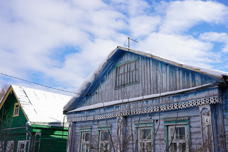 maison bleu suzdal