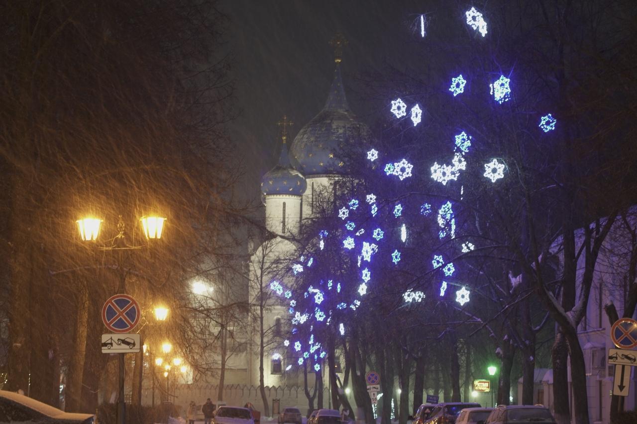 kremlin la nuit suzdal