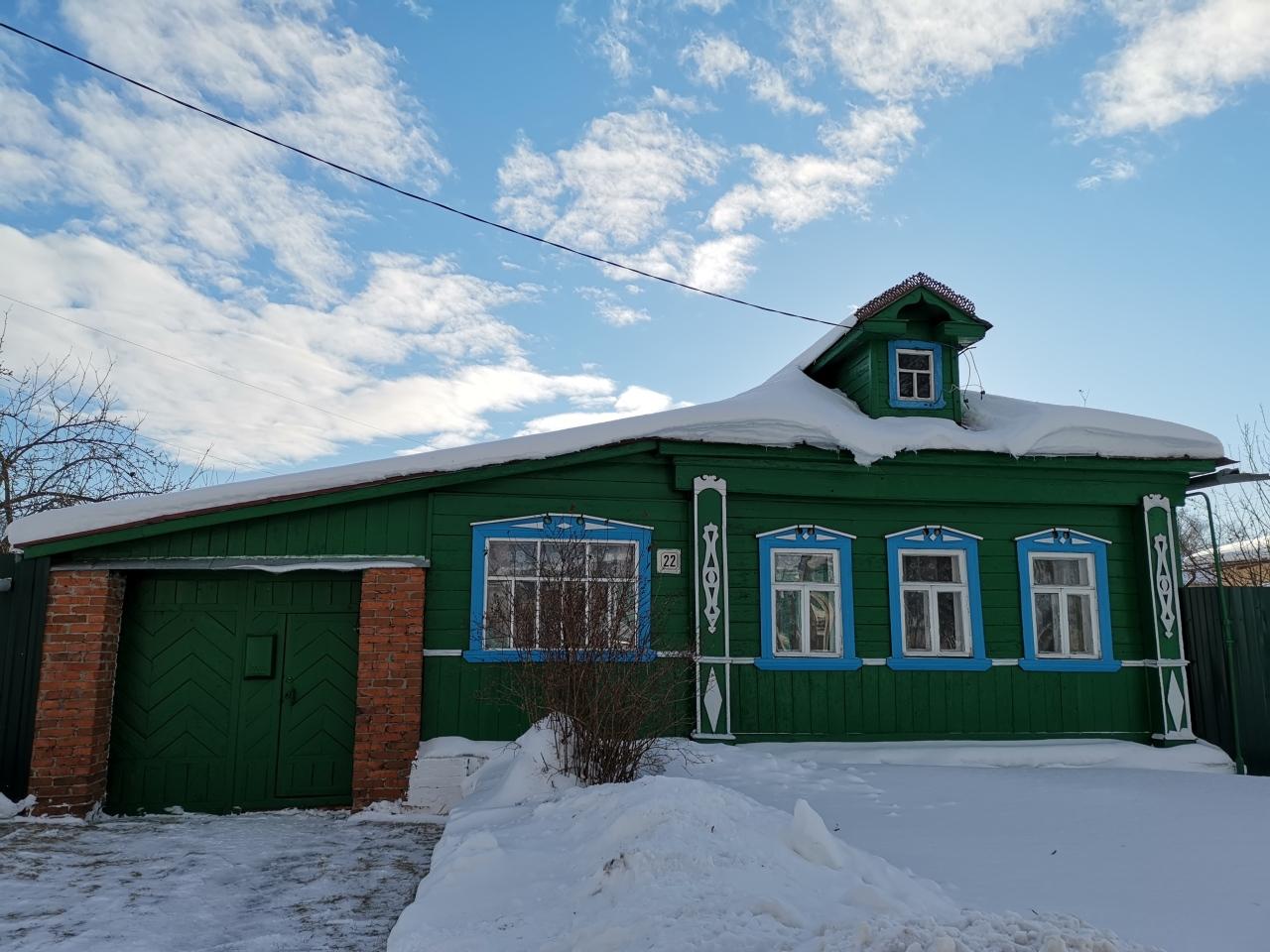 maison verte suzdal